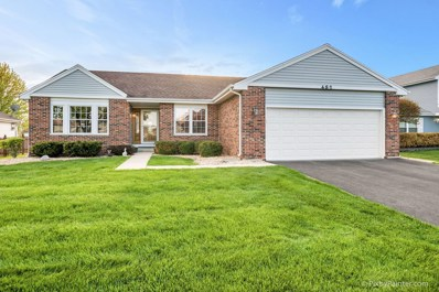 482 Essex Place, Carol Stream, IL 60188 - #: 10376623