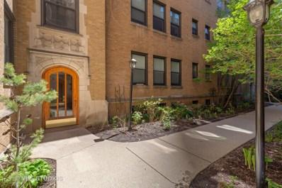 636 W Waveland Avenue UNIT 1F, Chicago, IL 60613 - #: 10377413