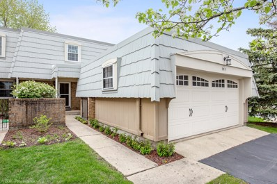 705 Bordeaux Court UNIT F, Elk Grove Village, IL 60007 - #: 10377599