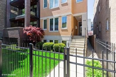 1112 N Paulina Street UNIT 1, Chicago, IL 60622 - #: 10378204