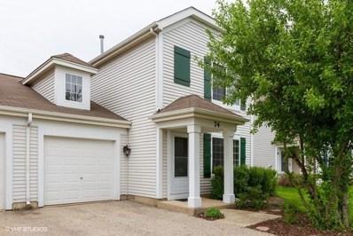 74 W Amberley Drive, Round Lake, IL 60073 - #: 10385973