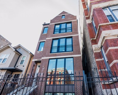 1345 W Huron Street UNIT 1, Chicago, IL 60642 - #: 10386546