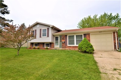 1657 S Green Meadows Boulevard, Streamwood, IL 60107 - #: 10388083