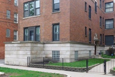 1208 W Waveland Avenue UNIT 1, Chicago, IL 60613 - #: 10388602
