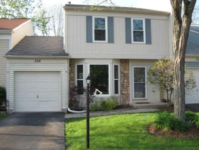 326 W Birchwood Avenue UNIT 326, Palatine, IL 60067 - #: 10389764