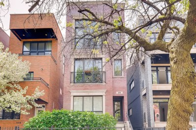 1020 N Honore Street UNIT 3, Chicago, IL 60622 - #: 10398496