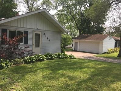 5116 Willow Drive, Wonder Lake, IL 60097 - #: 10400979