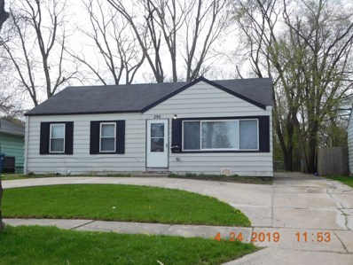 292 W 17th Street, Chicago Heights, IL 60411 - MLS#: 10402173