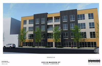 2223 W Madison Street UNIT 205, Chicago, IL 60612 - #: 10405644