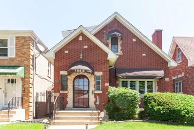 1849 N Natchez Avenue, Chicago, IL 60707 - #: 10413425