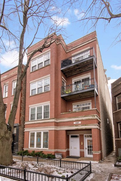 1337 W Wrightwood Avenue UNIT 3, Chicago, IL 60614 - #: 10413704