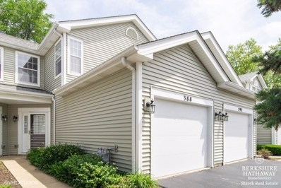 388 Hunterdon Court UNIT 388, Schaumburg, IL 60194 - #: 10415566