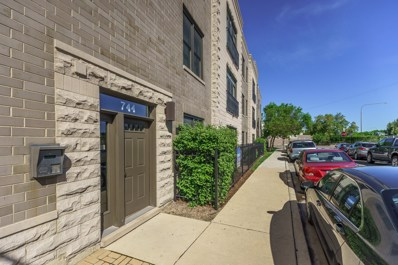 744 N Willard Court UNIT 202, Chicago, IL 60642 - #: 10419719