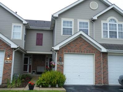 7421 Grandview Court, Carpentersville, IL 60110 - MLS#: 10419792