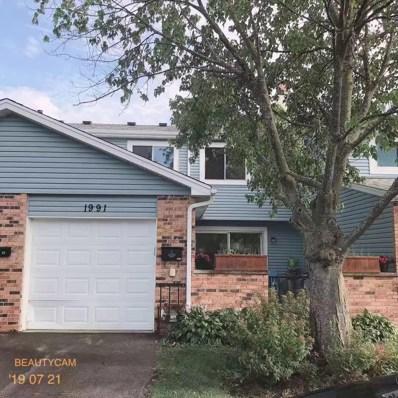 1991 Sudbury Drive UNIT 1991, Hoffman Estates, IL 60169 - #: 10434493