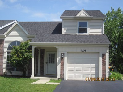1257 Trinity Drive, Carol Stream, IL 60188 - #: 10441426