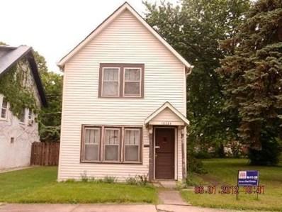 16965 Winchester Street, Hazel Crest, IL 60429 - #: 10445403