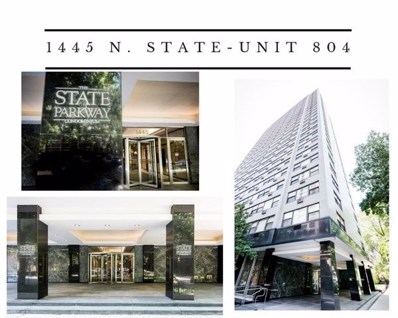 1445 N State Parkway UNIT 804, Chicago, IL 60610 - #: 10446001