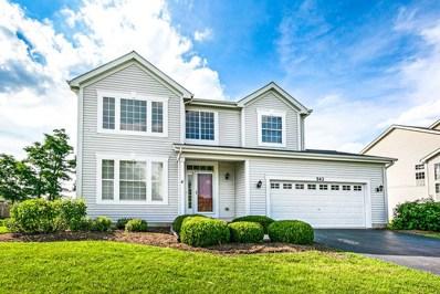 543 Parkside Lane, Yorkville, IL 60560 - #: 10447137