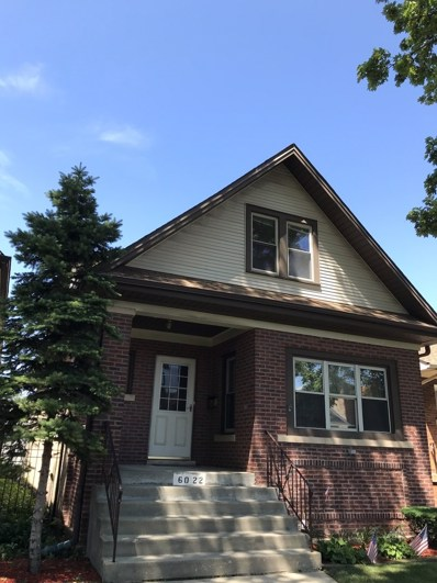 6022 W Dakin Street, Chicago, IL 60634 - MLS#: 10450840