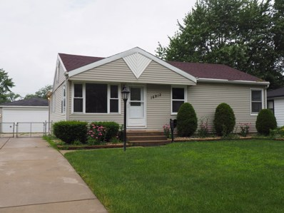 16912 Forest View Drive, Tinley Park, IL 60477 - #: 10452856