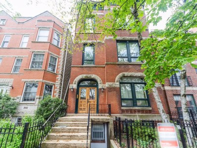 2646 N Seminary Avenue UNIT 3, Chicago, IL 60614 - MLS#: 10455128