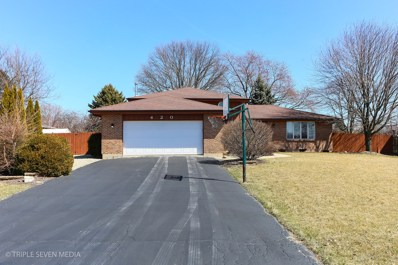 420 Rossford Lane, New Lenox, IL 60451 - #: 10469243