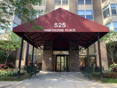 525 W Hawthorne Place UNIT 1608, Chicago, IL 60657 - #: 10471062
