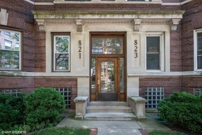 823 W Belle Plaine Avenue UNIT 2, Chicago, IL 60613 - #: 10472704
