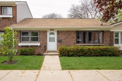 270 Bay Street UNIT D2, Wood Dale, IL 60191 - #: 10477303