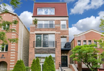 1442 W Walton Street UNIT 3, Chicago, IL 60642 - #: 10478749