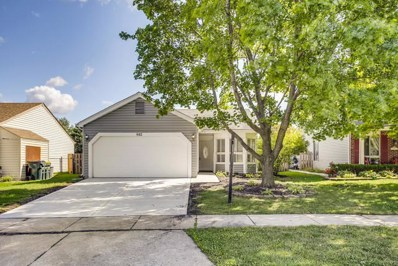 842 Plains Court, Carol Stream, IL 60188 - #: 10484468