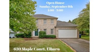 630 Maple Court, Elburn, IL 60119 - #: 10488506