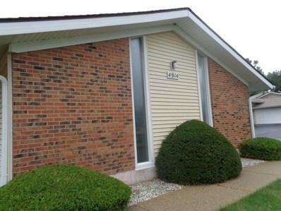 4914 W Oakwood Drive UNIT D, McHenry, IL 60050 - #: 10497247