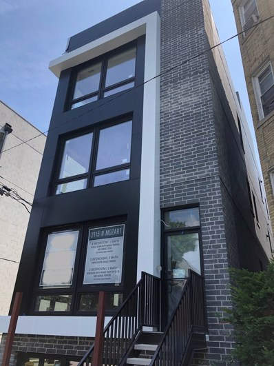 2115 N Mozart Street UNIT 3, Chicago, IL 60647 - #: 10497883
