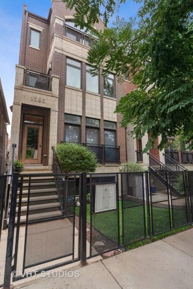 1505 W Walton Street UNIT 3, Chicago, IL 60642 - #: 10514754