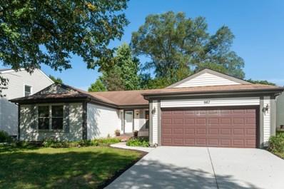 987 Knollwood Drive, Buffalo Grove, IL 60089 - #: 10517539
