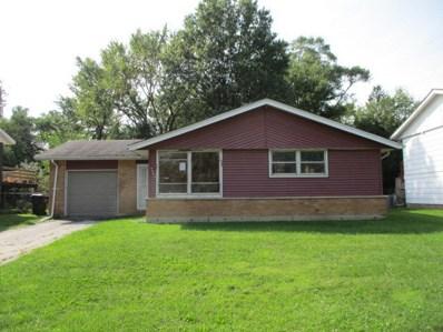 3509 Woodworth Place, Hazel Crest, IL 60429 - #: 10518072