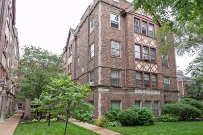 1219 Hull Terrace UNIT 3B, Evanston, IL 60202 - #: 10519228