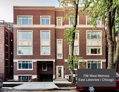 736 W Melrose Street UNIT 4W, Chicago, IL 60657 - #: 10527054