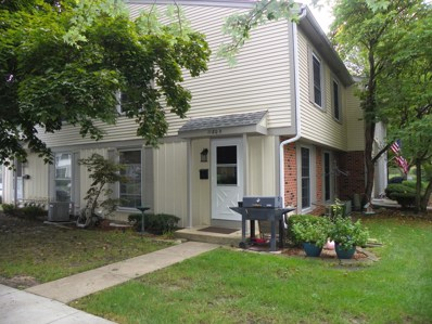 1180 Mount Vernon Court UNIT D, Wheaton, IL 60189 - #: 10529025