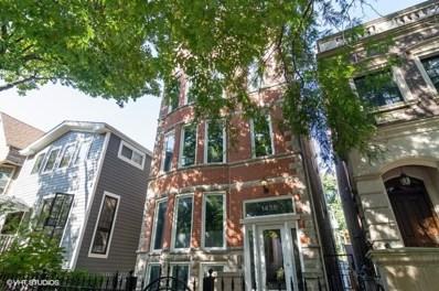 1436 W Wolfram Street UNIT B, Chicago, IL 60657 - #: 10543989
