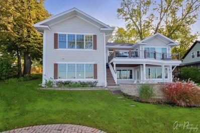 37160 N Bay Shore Road, Lake Villa, IL 60046 - #: 10546178