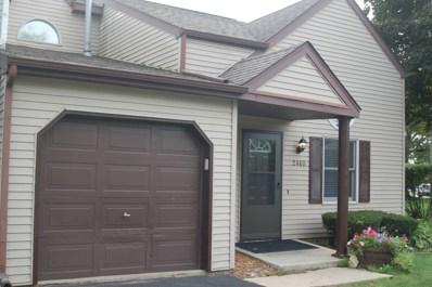 2460 Bridgewater Drive, Woodstock, IL 60098 - #: 10547002