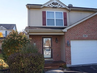 1483 Rhett Place UNIT 1483, Woodstock, IL 60098 - #: 10555124