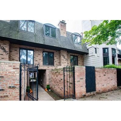 1943 N Hudson Avenue UNIT A, Chicago, IL 60614 - #: 10555143