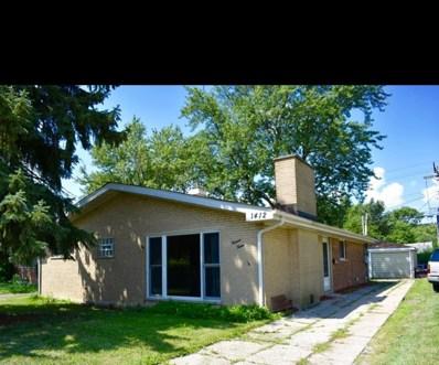 1412 Burnham Avenue, Calumet City, IL 60409 - #: 10556146
