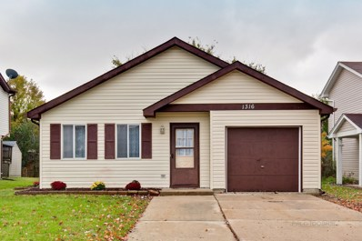 1316 Chattanooga Trail, Carol Stream, IL 60188 - #: 10562295