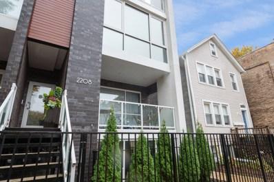 2208 N Leavitt Street UNIT N, Chicago, IL 60647 - MLS#: 10564959