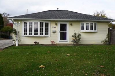 3700 Kingfisher Lane, Rolling Meadows, IL 60008 - #: 10566113